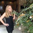 Mariah Carey lors de ses vacances à Aspen / photo postée sur Instagram, le 19 décembre 2015.