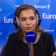 """La belle Karine Le Marchand évoque son salaire pour """"L'amour est dans le pré"""" dans """"Le grand direct des médias"""" sur Europe 1. Le 14 septembre 2015."""