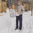 Mariah Carey en vacances à Aspen avec son chéri James Packer . Photo postée sur Instagram le 28 décembre 2015.