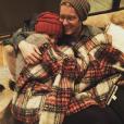 """""""Miranda Lambert a retrouvé le sourire dans les bras du jeune Anderson East. Photo postée sur Instagram, le 2 janvier 2015."""""""