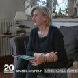 La cousine et la tante de Michel Delpech lui rendent hommage - JT de France 2, dimanche 3 janvier 2015.