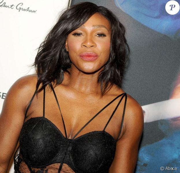 Serena Williams lors de la soirée des Sports Illustrated Sportsperson of the Year Awards au Pier Sixty du Chelsea Piers de New York, le 15 décembre 2015