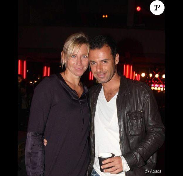 Nicolas et Nathalie Deuil à la soirée des 30 ans de Diesel, le 11/10/08