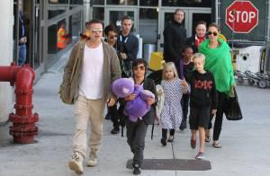 Angelina Jolie : Ses enfants Pax, Zahara, Shiloh et Knox dans Kung Fu Panda 3 !