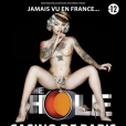 Affiche du spectacle burlesque The Hole, folie burlesque qui sera jouée au Casino de Paris du 6 au 24 janvier 2016.