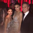 Kylie Jenner et Kourtney Kardashian à l'after-party des Golden Globes. Photo postée sur Instagram, le 11 janvier 2016.