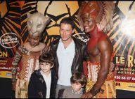 REPORTAGE PHOTOS : Marc-Olivier Fogiel en famille pour fêter Le Roi Lion !