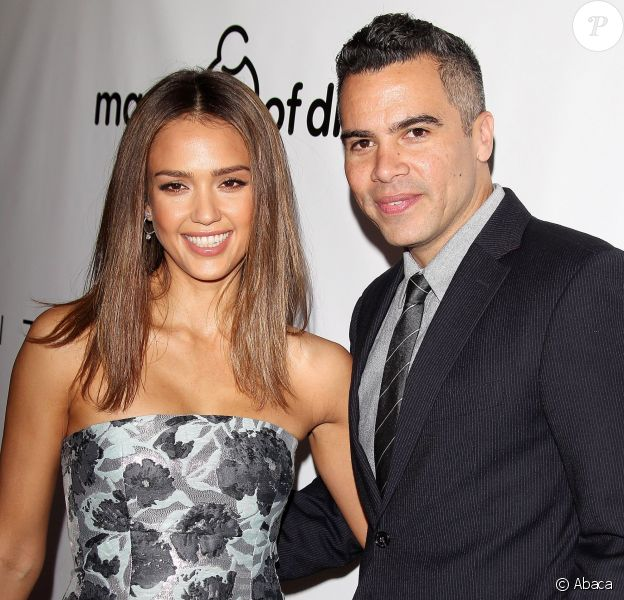 Jessica Alba et son mari Cash Warren lors d'un gala de charité à Beverly Hills en décembre 2015