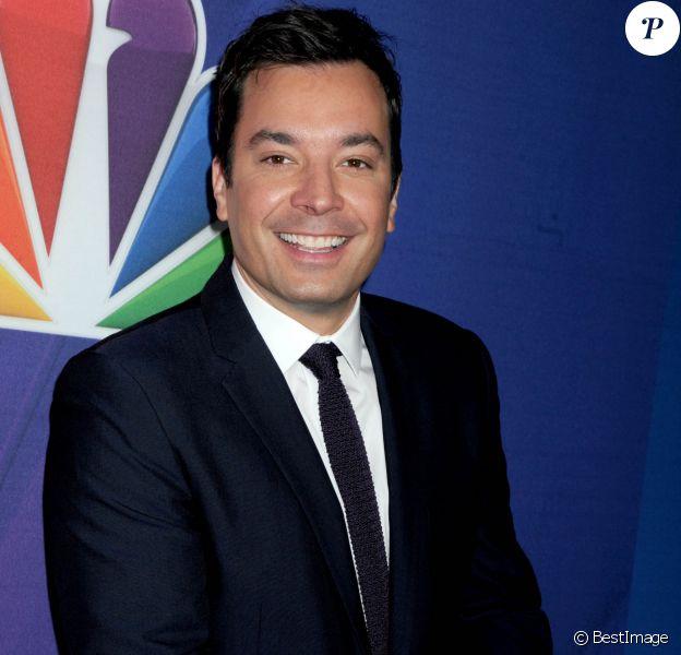 Jimmy Fallon - Soirée NBC Upfront à New York le 12 mai 2014