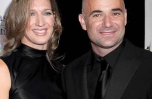 REPORTAGE PHOTOS : Quand Andre Agassi et son épouse Steffi Graf reçoivent les stars du glamour ! (réactualisé)