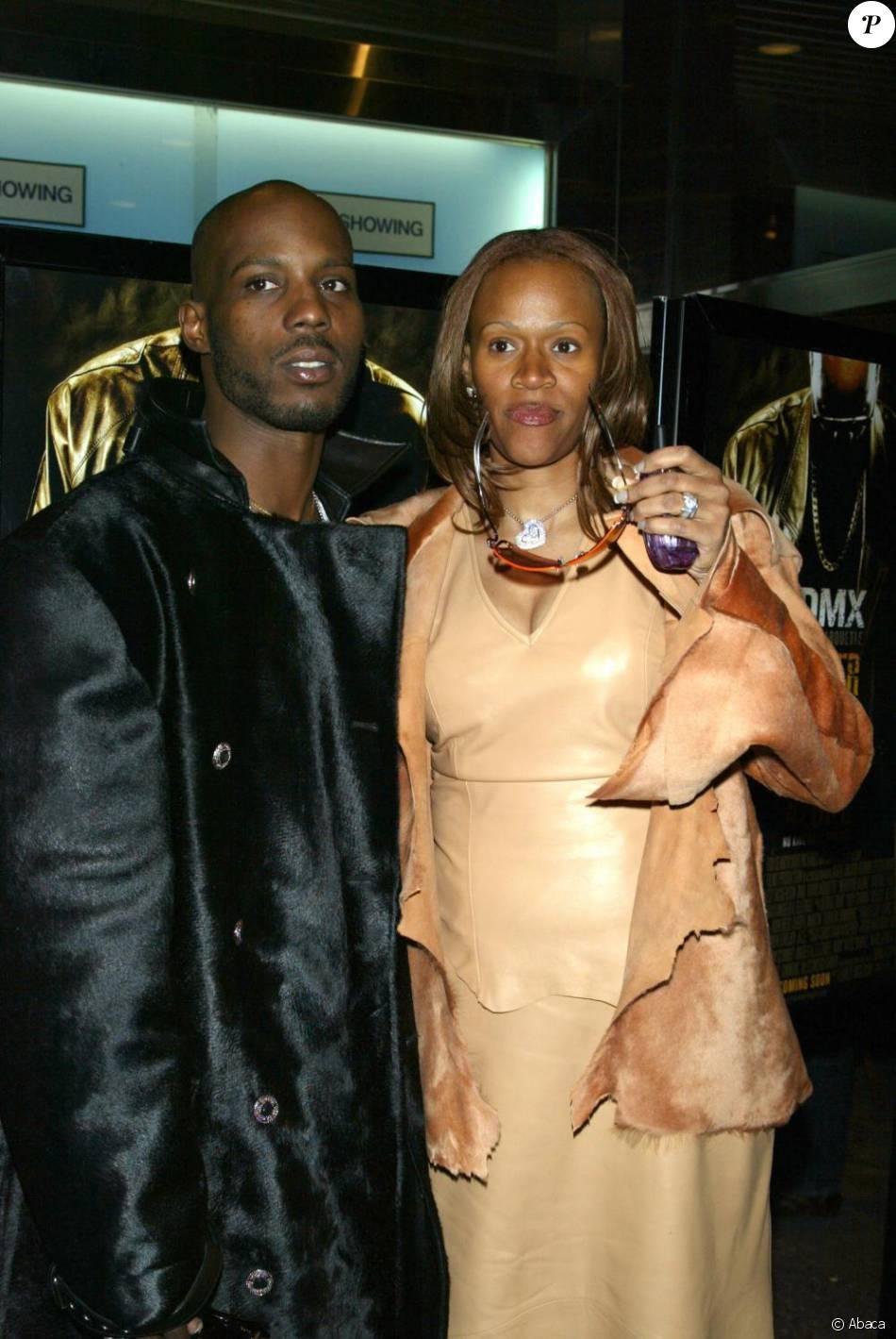 DMX et son épouse Tashera Simmons en 2004