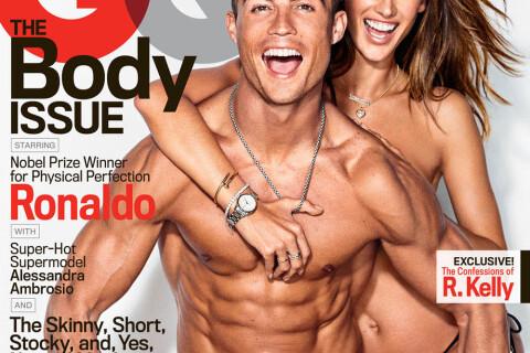Cristiano Ronaldo : Collé-serré à Alessandra Ambrosio, topless