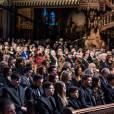 Intérieur des obsèques nationales de René Angélil en la Basilique Notre-Dame de Montréal, le 22 janvier 2016.  © Eric Carriere / OSAIMAGES / FEELING via Bestimage