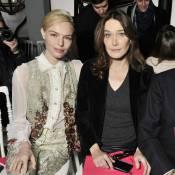 Carla Bruni-Sarkozy et Kate Bosworth goûtent aux plaisirs de Schiaparelli