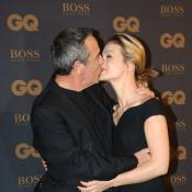 GQ Awards: Thierry Ardisson et Audrey, un baiser devant Laurence Ferrari in love