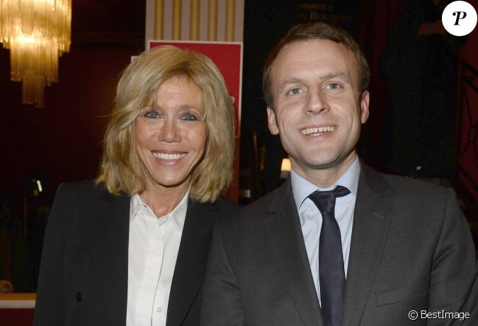 emmanuel macron et sa femme brigitte trogneux g n rale de la pi ce a tort et raison au. Black Bedroom Furniture Sets. Home Design Ideas