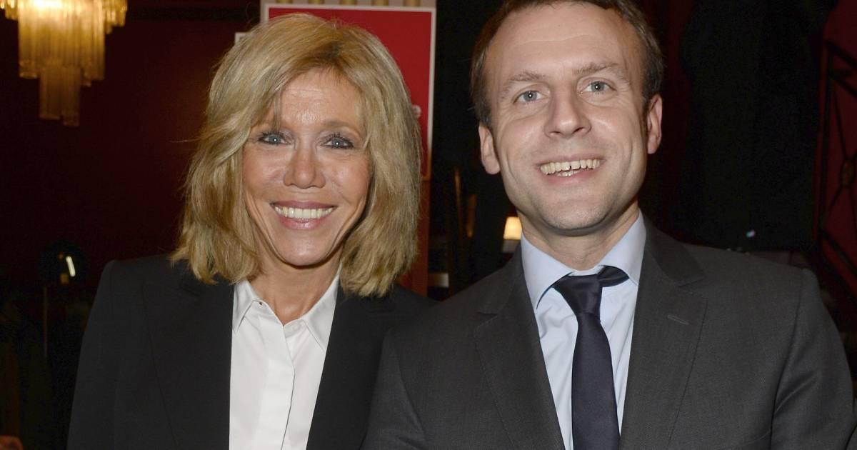 Emmanuel macron et sa femme brigitte trogneux g n rale de la pi ce a tort et raison au - Jean francois balmer et sa femme ...