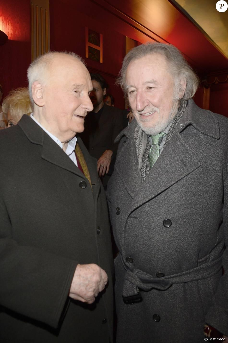 Michel bouquet et jean fran ois balmer g n rale de la pi ce a tort et raison au th tre - Jean francois balmer et sa femme ...