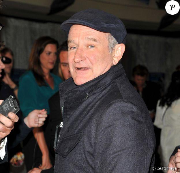 Robin Williams à la première de Happy Feet 2 à Sidney, le 4 décembre 2011