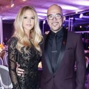 Pascal Obispo et Julie, époustouflante, au Dîner de la mode pour le Sidaction