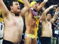 Michael Phelps à demi-nu : Le strip-tease de la star en plein match de basket
