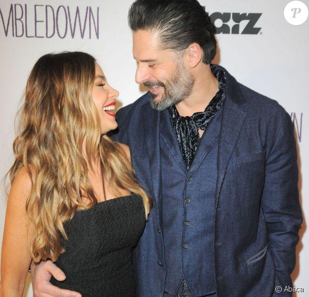 "Sofia Vergara, Joe Manganiello lors de la soirée de projection de ""Tumbledown"" au Aero Theater, de Santa Monica, le 1er février 2016."