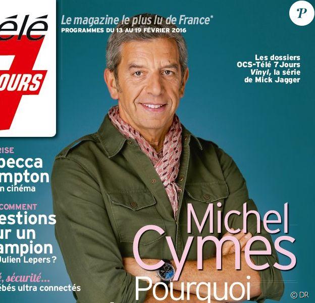 Magazine Télé 7 Jours - édition du lundi 8 février 2016.