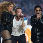 Super Bowl : Beyoncé manque de chuter mais rayonne avec Coldplay et Bruno Mars