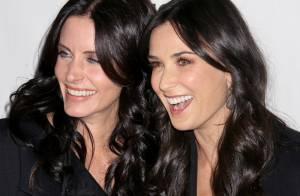 REPORTAGE PHOTOS : Demi Moore et Courteney Cox, de vraies soeurs jumelles !