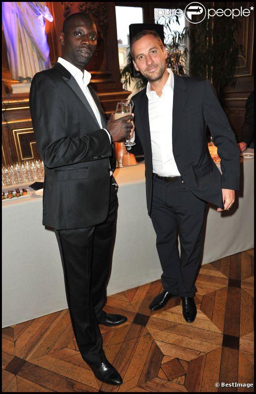 Omar Sy et Fred Testot en mars 2012