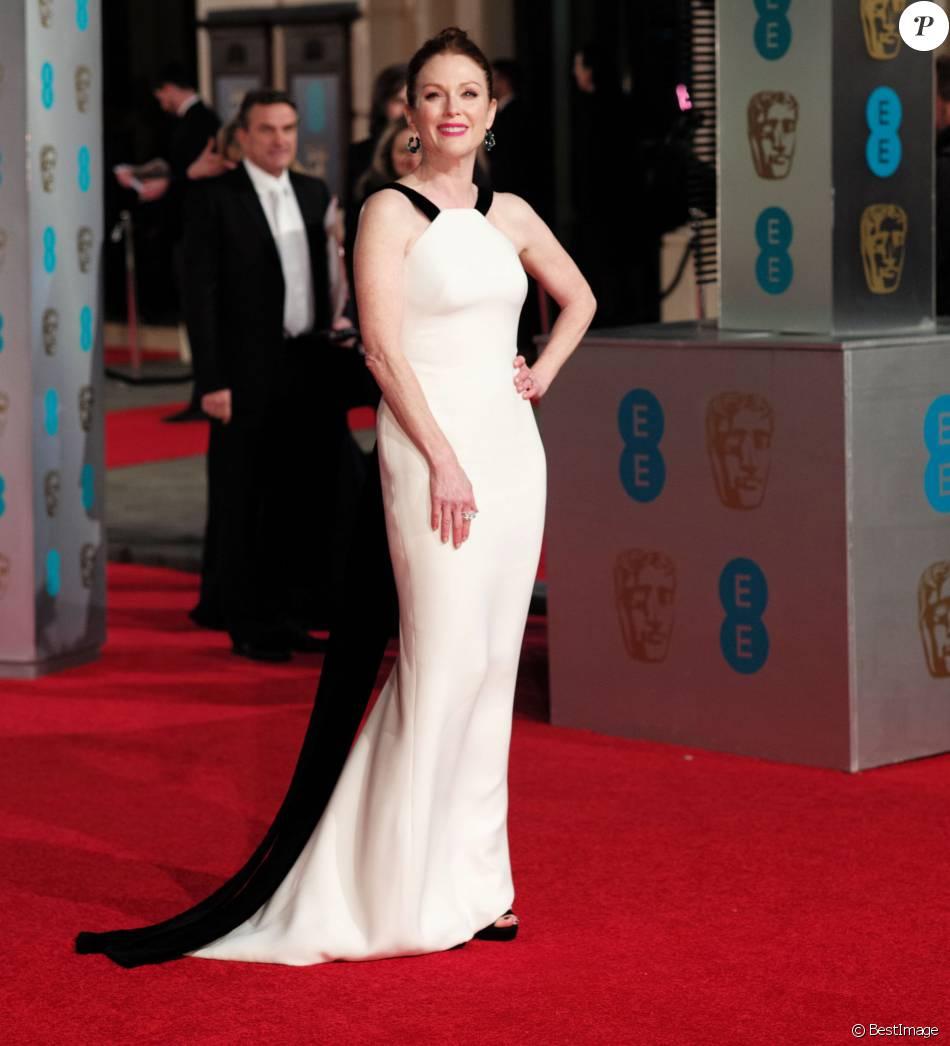 Julianne Moore - 69e cérémonie des British Academy Film Awards (BAFTA) à Londres, le 14 février 2016.