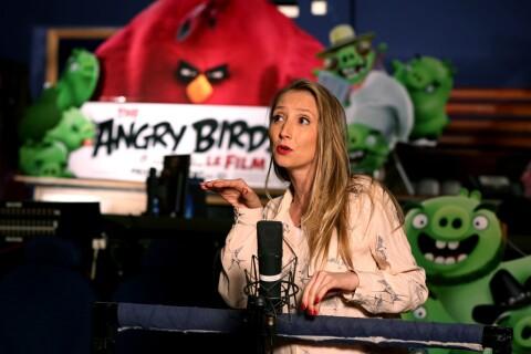Audrey Lamy : La future maman fait équipe avec Omar Sy et... des Angry Birds
