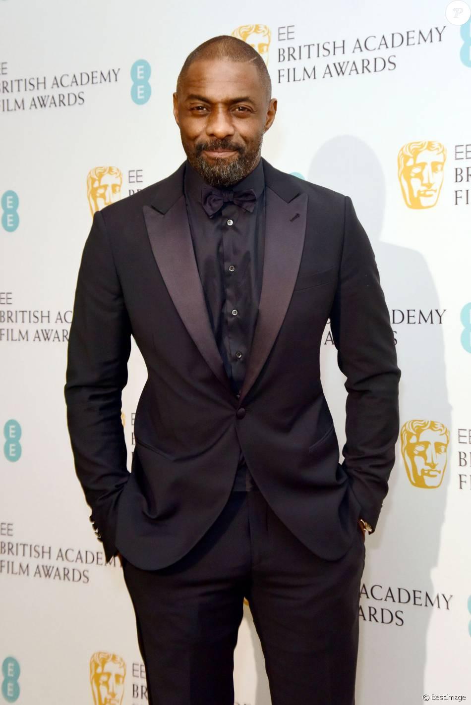 Idris Elba - 69e cérémonie des British Academy Film Awards (BAFTA) à Londres. Le 14 février 2016