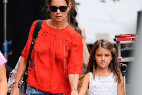 """Katie Holmes : Maman comblée par Suri, mais le coeur """"brisé""""..."""