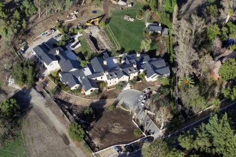 Kanye West et Kim Kardashian : Leur villa en travaux... La folie des grandeurs !