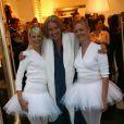 Emma Thompson à l'inauguration de la nouvelle boutique de Marie-Chantal de Grèce à Londres, le 14/10/08