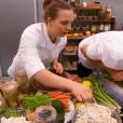 """Le garde-manger dont s'occupe Vincent Meslin - """"Top Chef 2016"""" sur M6, le 8 février 2016."""