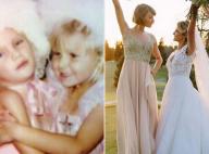 Taylor Swift splendide demoiselle d'honneur au mariage de son amie d'enfance !