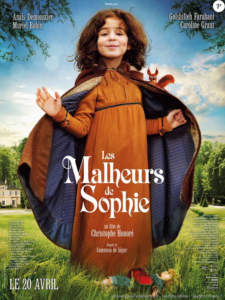 affiche du film les malheurs de sophie. Black Bedroom Furniture Sets. Home Design Ideas