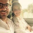 Thomas Isle et Carole Tolila. Photo postée sur Instagram