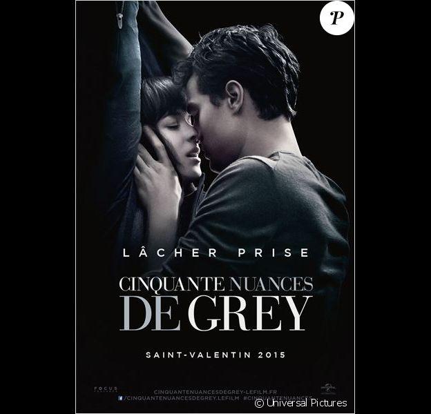 Affiche de Cinquante nuances de Grey.