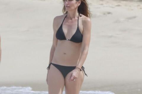 Cindy Crawford : Sirène glamour en bikini pour ses 50 ans à Saint-Barth