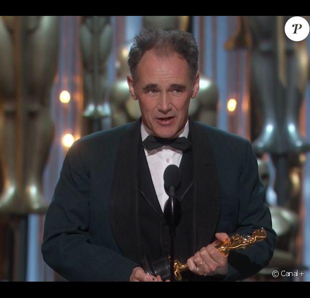 Mark Rylance a décroché l'Oscar du meilleur acteur dans un second rôle pour Le Pont des espions - 28 février 2016