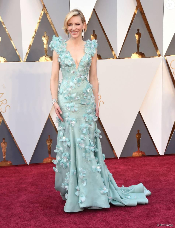 Préférence Cate Blanchett, sirène ultrachic en robe haute couture Armani  SC63
