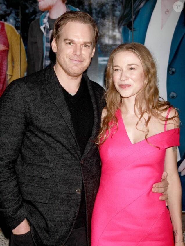 Michael C. Hall et Morgan Macgregor à New York, le 30 mars 2014