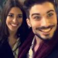 """Alia et Ali (""""Secret Story 9""""), très proches et complices à Milan pour le Nouvel An. Le 31 décembre 2015."""