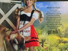 PHOTO : Heidi Klum, une très belle... vachère !