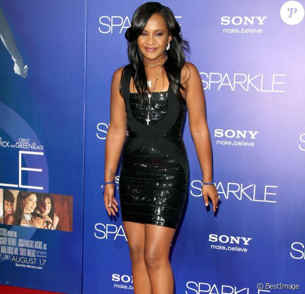 Bobbi Kristina à la première de Sparkle à Hollywood, le 16 août 2012