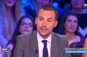 TPMP - Coup de théâtre : Bertrand Chameroy annonce son départ en direct !
