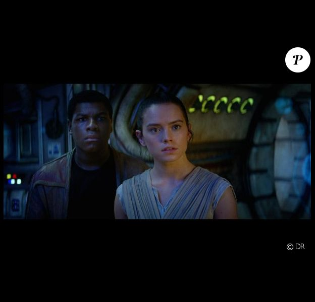 Daisy Ridley dans Star Wars - Le Réveil de la Force